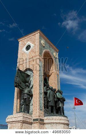 Taksim Monument Of The Republic