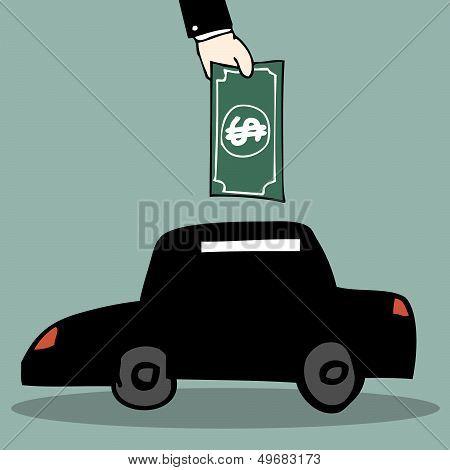 Car Piggy Bank