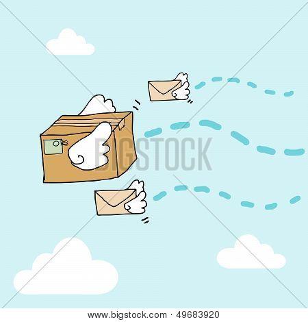 Flying Parcels