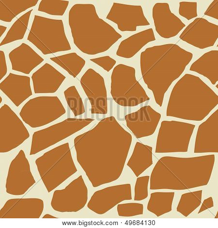 Giraffe Seamless Background