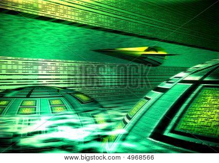 Flight Through Tunnel