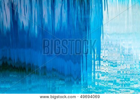 Abstract waterfall background