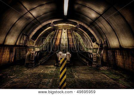 Inside the Pedestrian Tunnel
