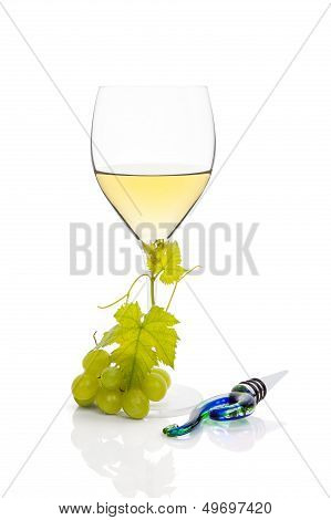 Luxurious White Wine.