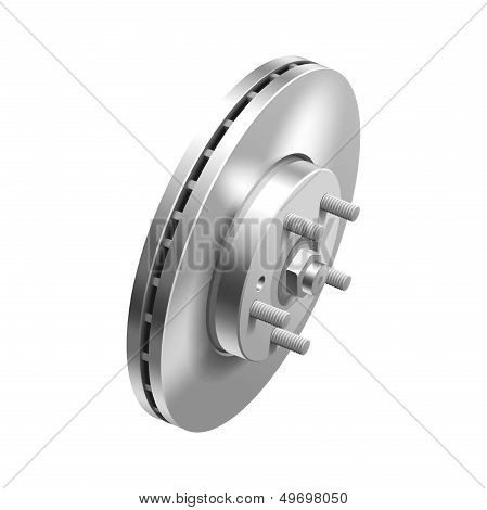 Automotive brake disc