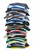 pic of t-shirt red  - Big stack of colorful t - JPG
