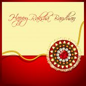 stock photo of rakhi  - beautiful rakhi background with space for your text - JPG