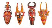 set of african masks (high res)