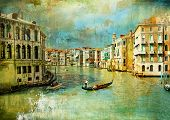 picture of gondolier  - amazing Venice  - JPG