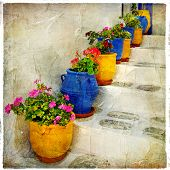 colors of Greece (vintage artistic series )