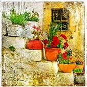 stock photo of hydra  - traditional Greece series  - JPG
