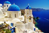 stock photo of greek-island  - white - JPG