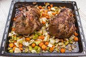 Lamb Baked In The Oven