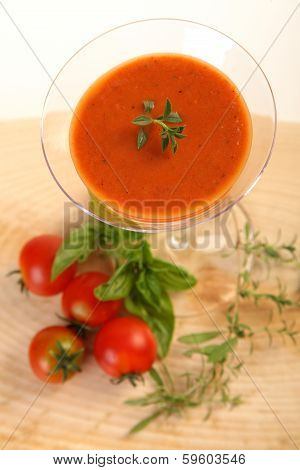 Tomatoes Cold Soup