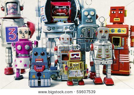 a robot team