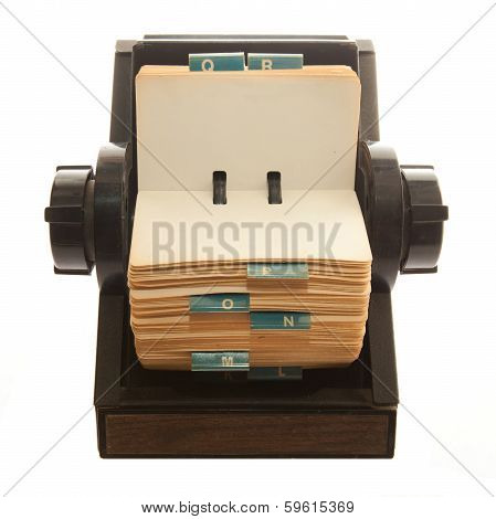Rolodex - Stock Photo