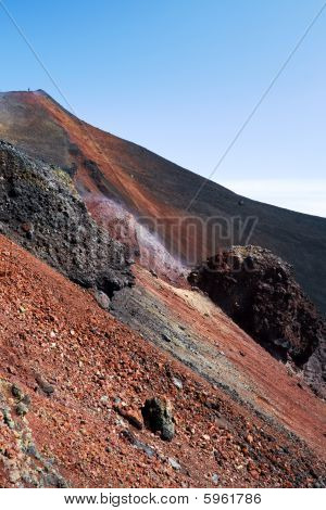 Slope Of Volcano