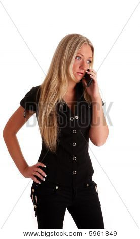 Black Blond Woman