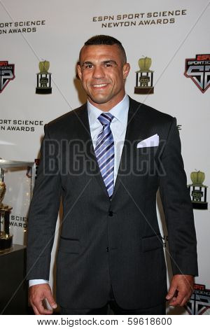LOS ANGELES  - FEB 9:  Vitor Belfort at the ESPN Sport Science Newton Awards at Sport Science Studio on February 9, 2014 in Burbank, CA