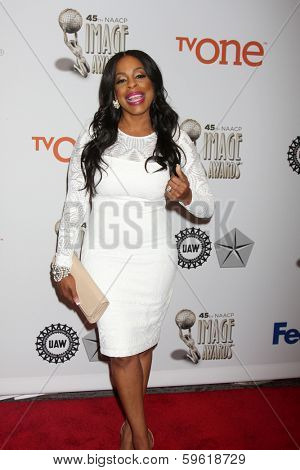 LOS ANGELES - FEB 8:  Niecy Nash at the 2014 NAACP Image Awards Nominees Luncheon at Loews Hollywood Hotel on February 8, 2014 in Los Angeles, CA