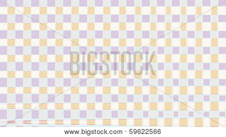 Pastel Tiles Background - Stock Image