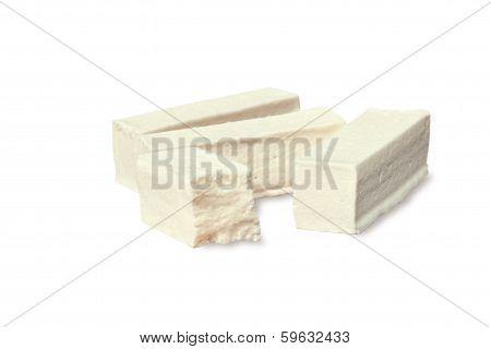 pastila on white background