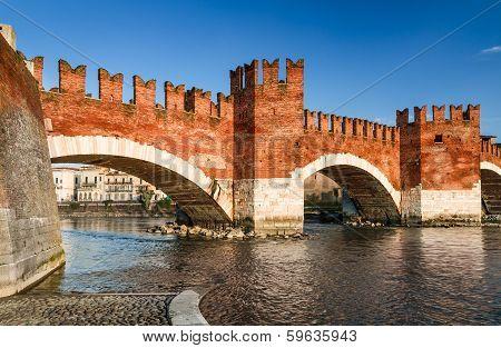Ponte Scaligero, Verona, Italy