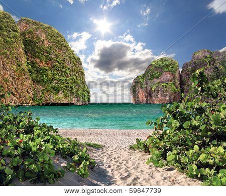 Maya bay of Phi-Phi island