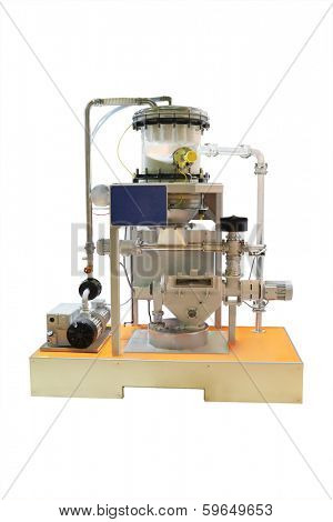 The image of industrial dosing machine