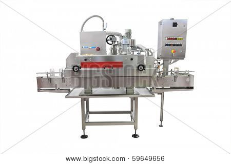 The image of industrial jar obturating machine