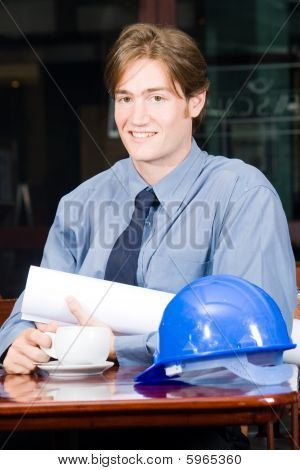 Empresário de construção