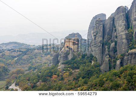 Monareties on Meteora in Greece