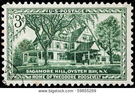 Sagamore Hill Stamp