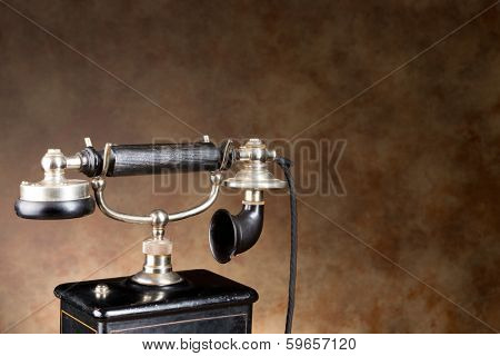 19th century telephone in real working order, just a bit heavier than a mobile phone