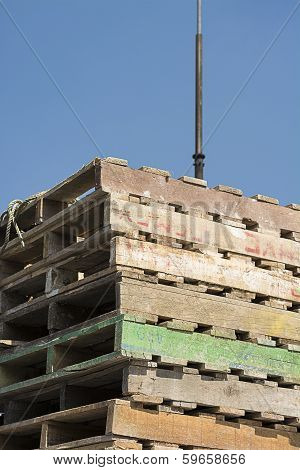 Construction Wooden Pallets