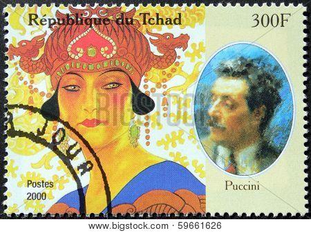 Puccini Stamp