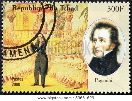 Paganini Stamp