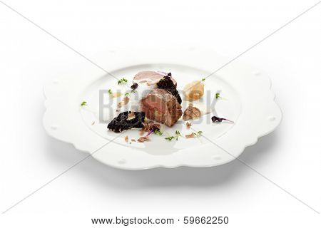 Veal Fillet Mignon Stuffed with Artichoke