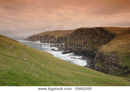 Scottish Coastal cliffs