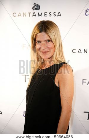NEW YORK-FEB 10: Publicist Lizzie Grubman attends the Cantamessa Men Launch Party at Tao Downtown Lounge on February 10, 2014 in New York City.