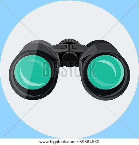 Black binocular icon