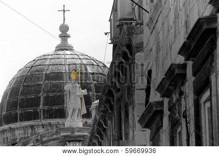 Cupola In Dubrovnik