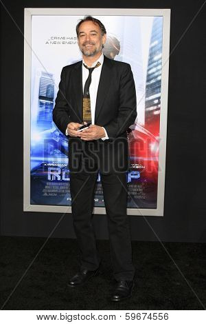 LOS ANGELES - FEB 10: Jon Lindstrom at the premiere of Columbia Pictures' 'Robocop' at TCL Chinese Theatre on February 10, 2014 in Los Angeles, California
