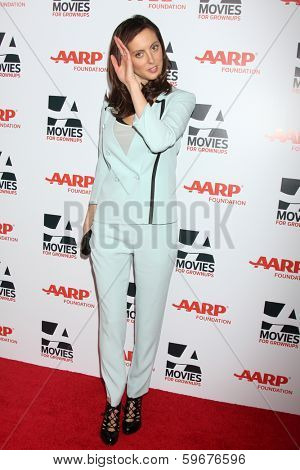 LOS ANGELES - FEB 10:  Eva Amurri Martino at the AARP