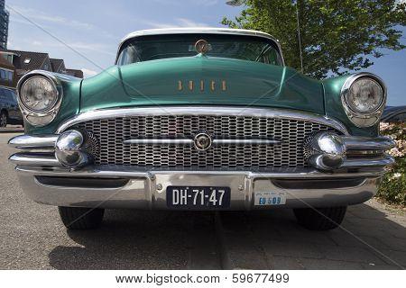 Vintage classic car.