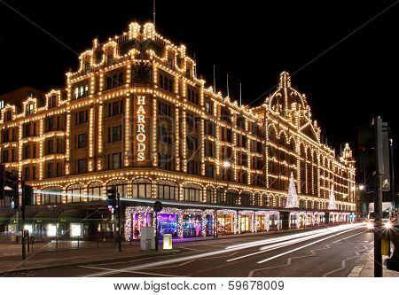 Harrods Night