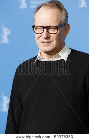 BERLIN - FEB 9: Stellan Skarsgard at the 'Nymphomaniac Volume I' photocall - 64th Berlinale International Film Festival at Grand Hyatt Hotel on February 9, 2014 in Berlin, Germany