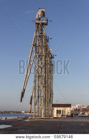 Ship Loading Grain Tower