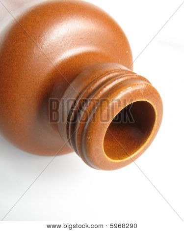 Clay Bottle
