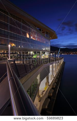 Vancouver Convention Center Twilight